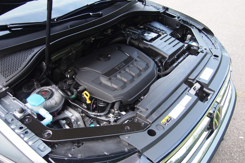 2022 Volkswagen Tiguan SEL-R Line - engine