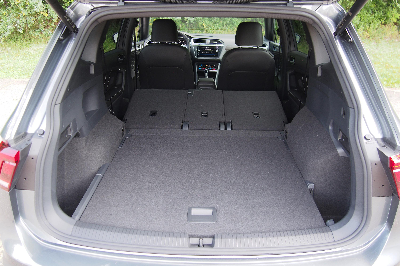 2022 Volkswagen Tiguan SEL-R Line - cargo