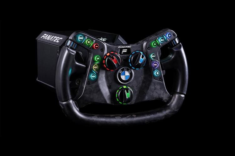 Fanatec's new sim racing wheel is also a real BMW M4 GT3 wheel - Roadshow