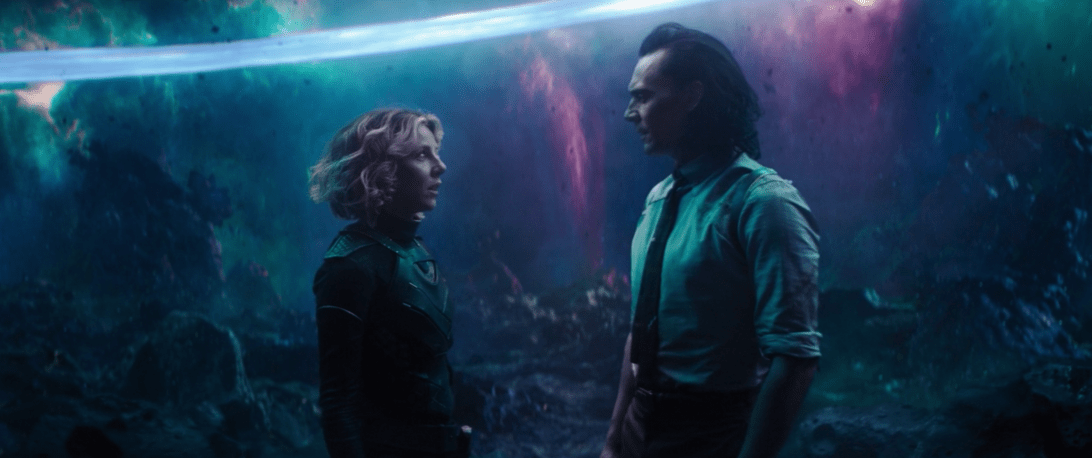 Sylvie and Loki in finale