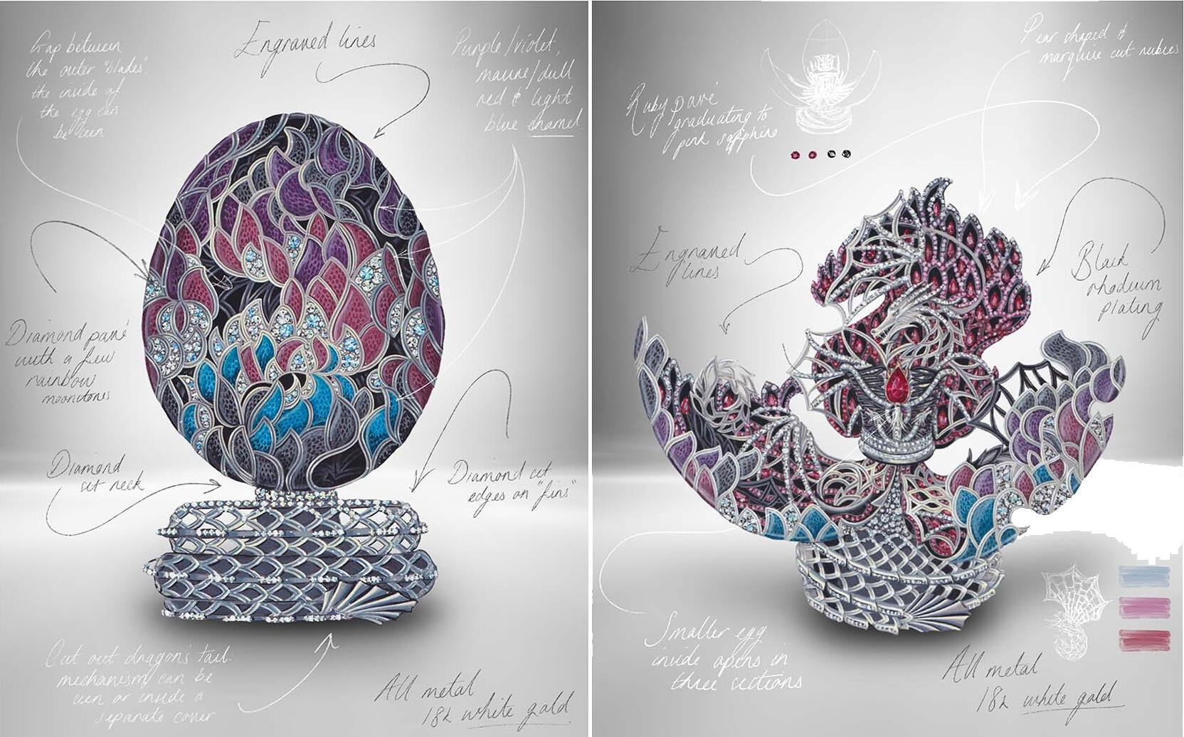 faberge-game-thrones-dragon-egg-open-and-closed
