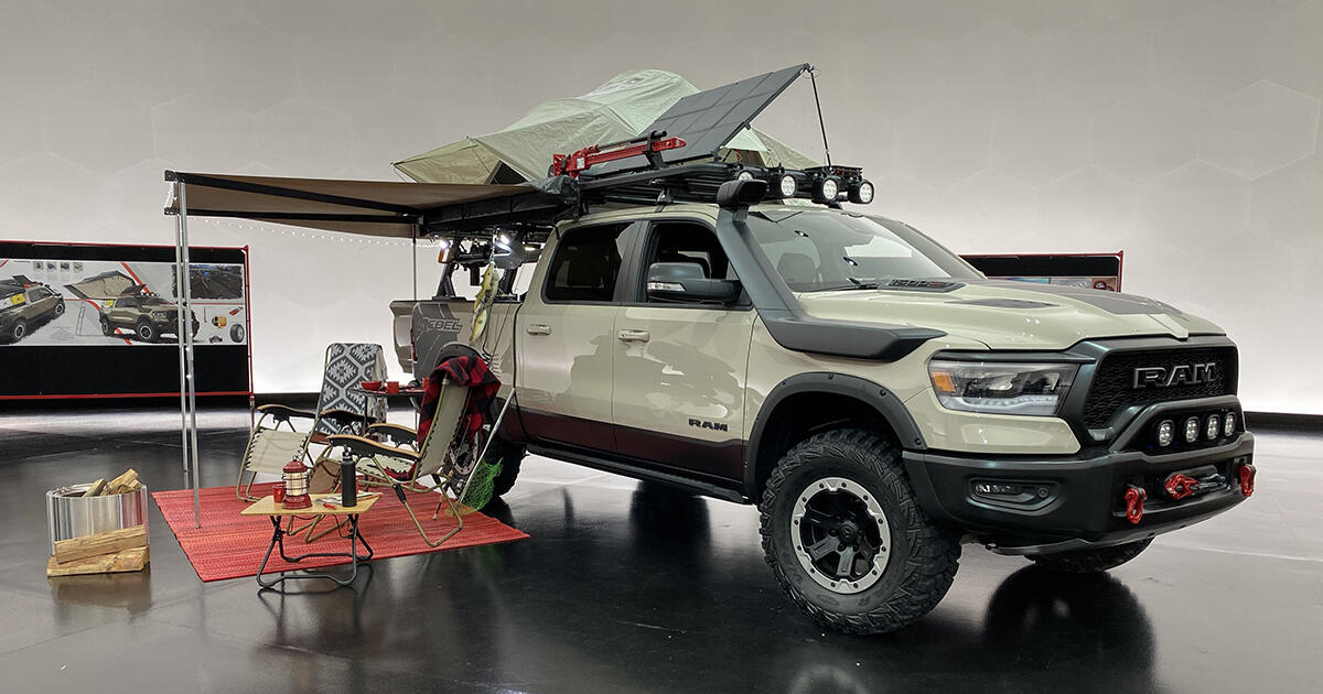 the ram 1500 rebel otg concept is the