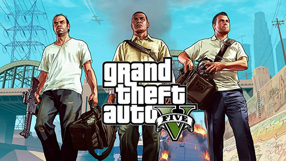 GTA V helped it gain an edge in the gaming space last month.