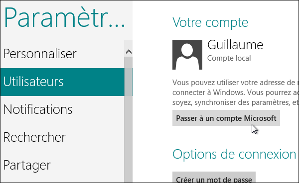 Installer Windows 8 Avec Un Compte Local Sans Compte