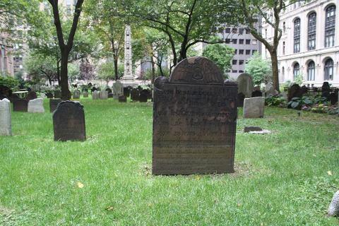 Le cimetière de Trinity Church