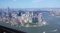 Le Downtown Manhattan constitue évidemment le grand moment d'un survol en hélicoptère
