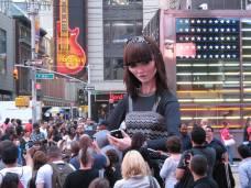 De drôles de rencontres vous attendront sur Times Square