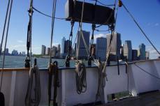 A bord du voilier de la compagnie Manhattan by Sail