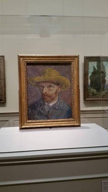 Rencontre avec Van Gogh dans le département consacré à la peinture