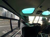 L'un des passagers peut s'assoir à côté du pilote ! (Photo Morgane Bienvenu)