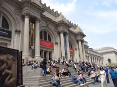 Les marches du Met en mai 2014