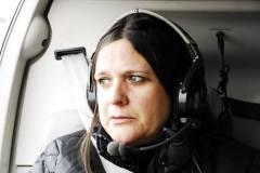La photo du pilote ? Non, non il s'agit de Patricia Lecocq en plein vol ! :-)