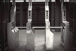 Les portiques. (Photo Philippe Meyers)