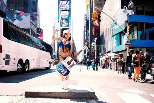 Bienvenue sur Times Square