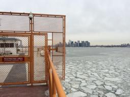 A bord du ferry de Staten Island
