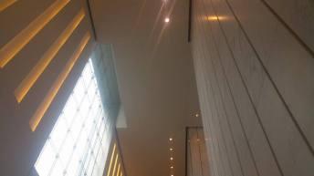 Un lobby à la hauteur de la tour ! (Photo Smain Stanley)