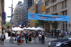 Bastille Day sur la 60th Street. (Photo Didier Forray)
