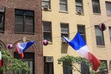 Les drapeaux français flottent sur New York ! (Photo Didier Forray)