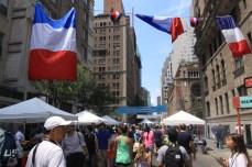 Bastille Day sur la 60th Street. (Photo Didier Forray)