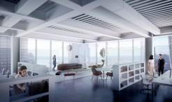 Un bureau avec vue imprenable. (Photo BIG)