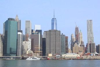 2015 : la nouvelle vue depuis Brooklyn. (Photo Didier Forray)