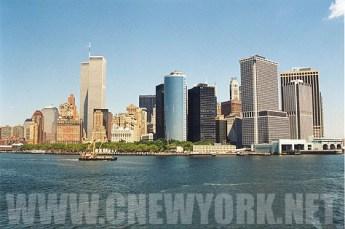 1999 : la skyline depuis le ferry de Staten Island. (Photo Didier Forray)