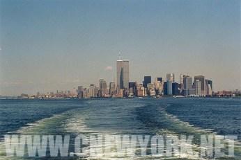 1999 : la baie de New York. (Photo Didier Forray)