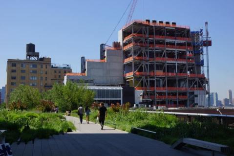 Vue depuis la High Line. (Photo Géraldine Parrinello)