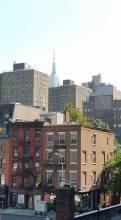 L'Empire State building au-dessus des toits. (Photo Sophie Paolini Deplano)