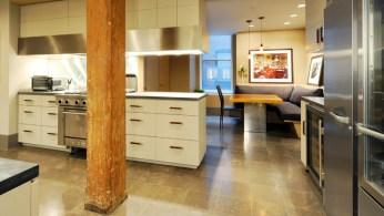La cuisine de l'un des appartements. (Photo CityRealty)