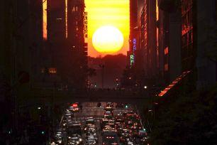 manhattanhenge New York