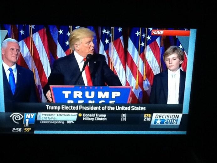 élection américaine Trump New York