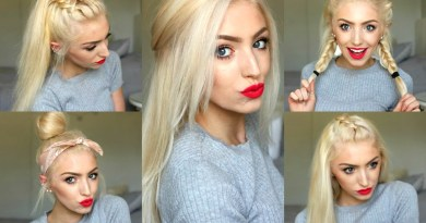 5 Easy SPRING HAIRSTYLES 2016