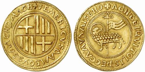 Risultati immagini per pierre d'aubusson coins