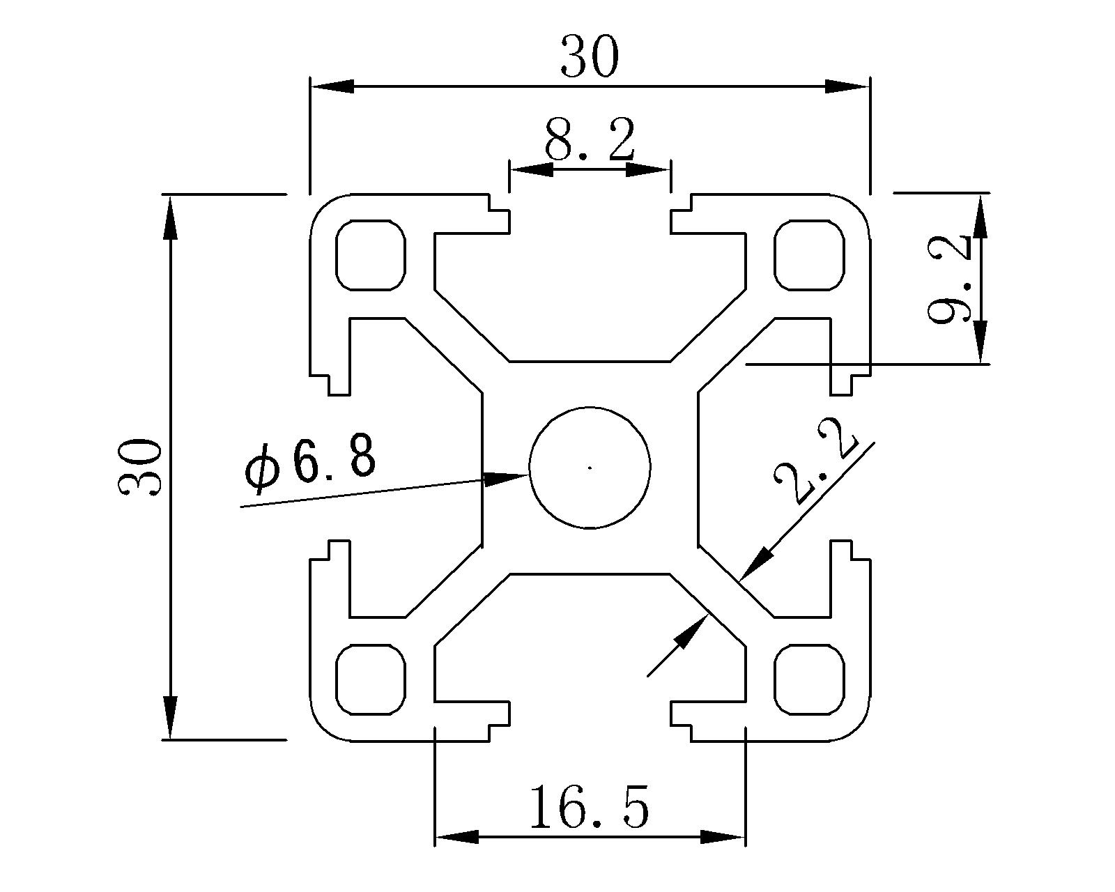 Profile Machine Assembly Line Aluminum Profiles