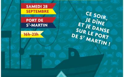 Fête du Coquillage sur le port de St Martin de Ré le samedi 28 septembre de 16h à 23h