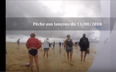 Pêche aux lançons du 13 août 2018