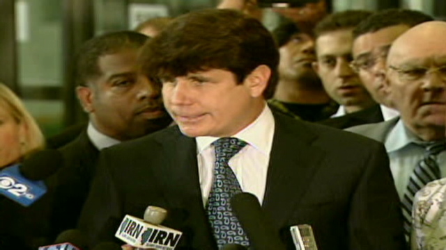 Government prosecutors say they will try ex-Illinois Gov. Rod Blagojevich again