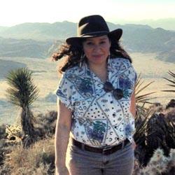 Demi in the desert
