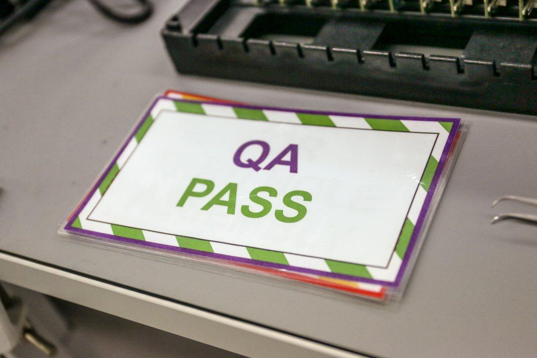 Quality & Process - QA Pass