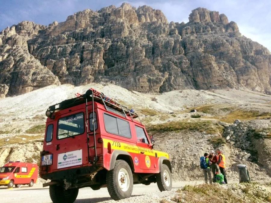 Soccorso Alpino Cortina