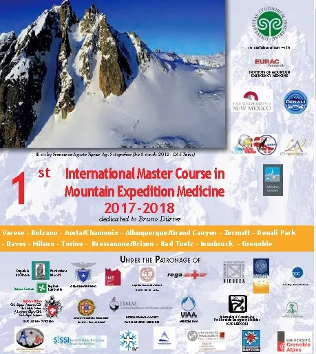 International Master Course in Mountain Expedition Medicine