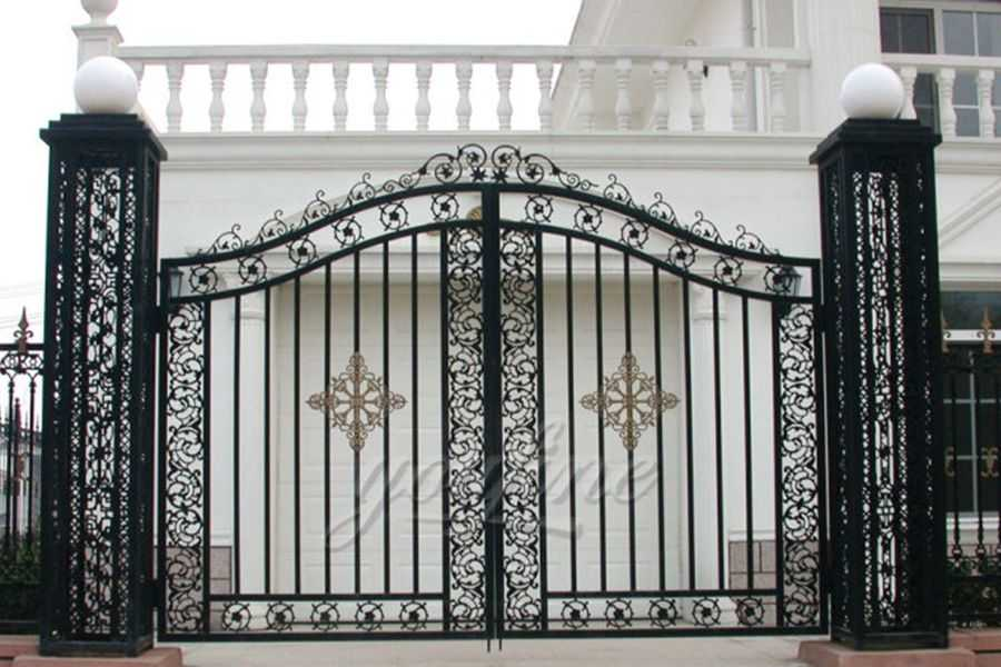 Simple Cast Door Iron Gate Designs-You Fine Sculpture on Iron Get Design  id=74304