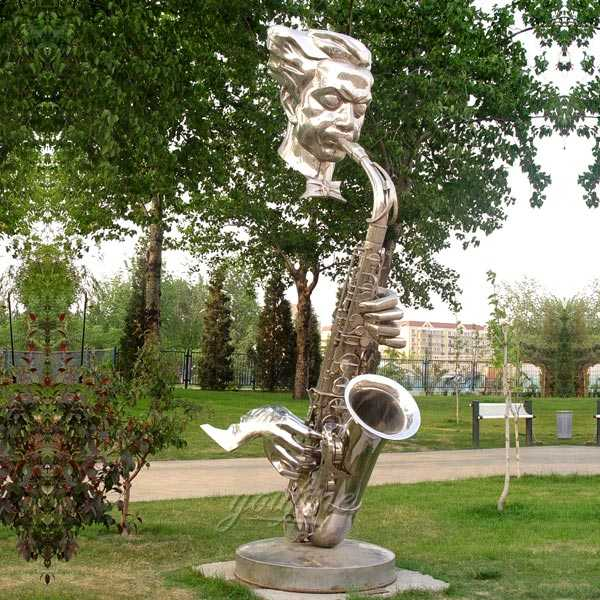 Modern Large Outdoor Stainless Steel Metal Sculpture For