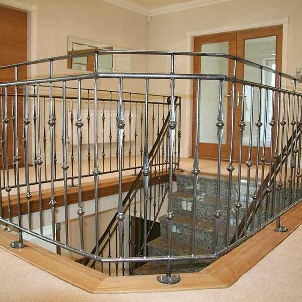 Ornamental Interior Decor Wrought Iron Balustrades And Handrails | Wrought Iron Balustrades And Handrails | Metal | Wrought Ironwork | Design | Mild Steel | Cast Iron