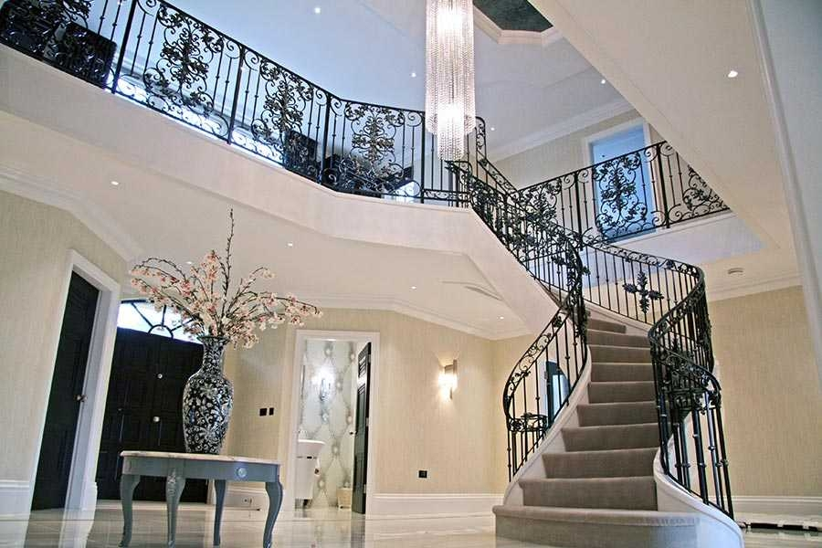 3 Steps To Help You Choose Iron Stair Railing Design You Fine | 3 Step Stair Railing | Manufactured Home | Basic Deck | Residential Stair | 2 Bar | Three Step