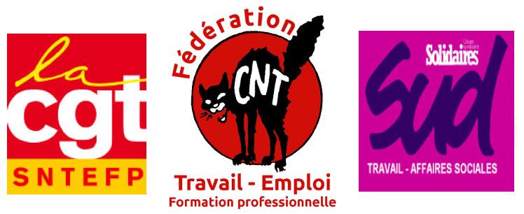 intersyndicale-CNT-CGT-SUD-balancetonporc-ministere du travail