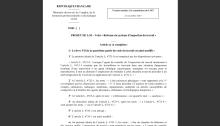 Avis CNIT réforme Sapin