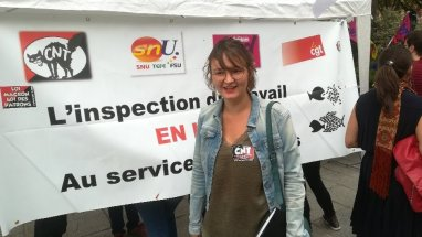 rassemblement affaire tefal cour de cassation pfeiffer banderole intersyndicale CNT CGT FSU SUD FO 2018-09-05