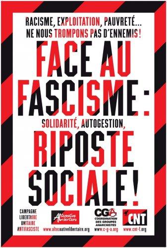 Face au fascisme riposte sociale
